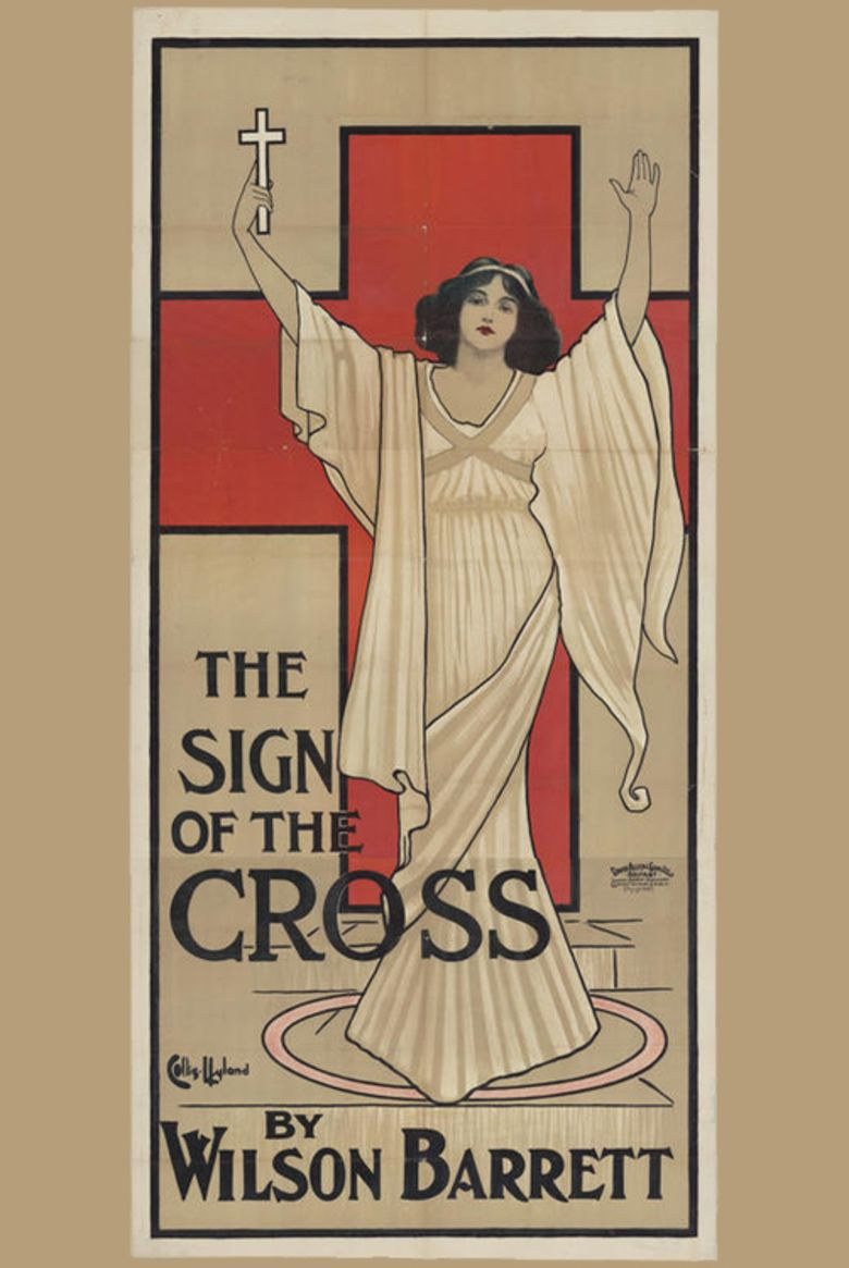 The Sign of the Cross (1914 film) movie poster