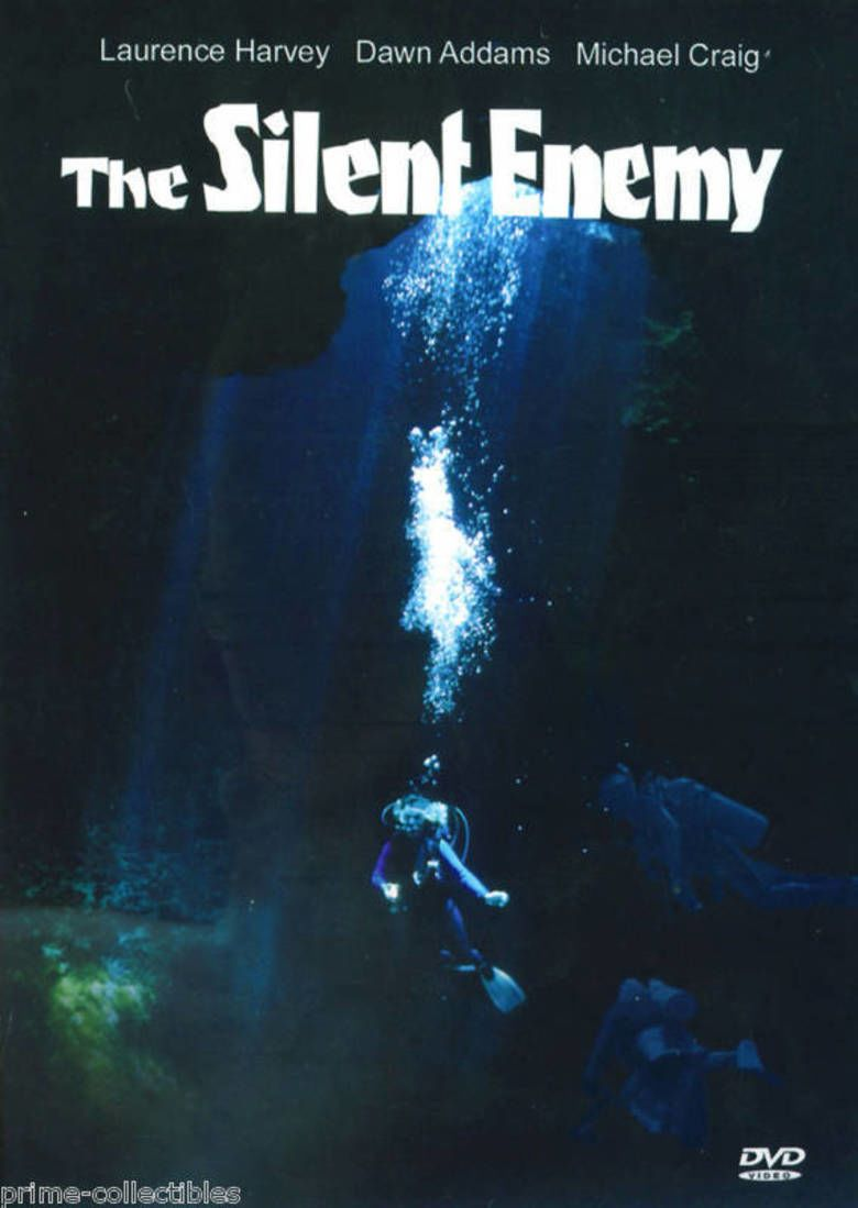 The Silent Enemy (1958 film) movie poster