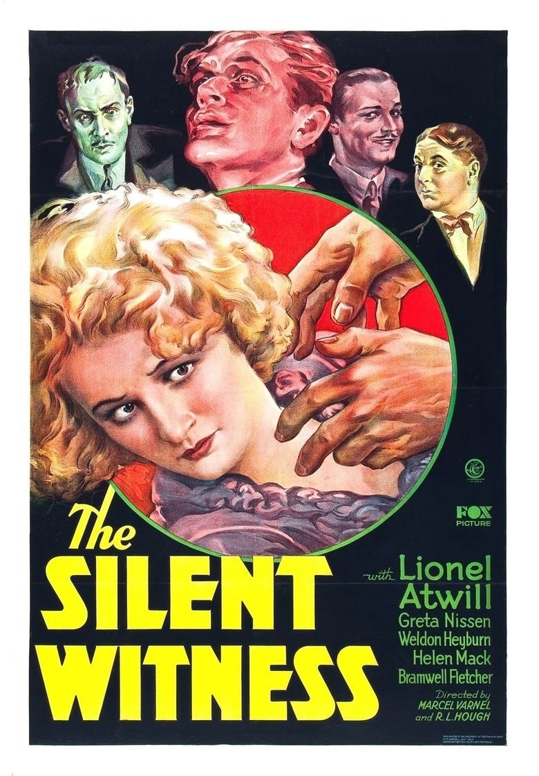 The Silent Witness movie poster