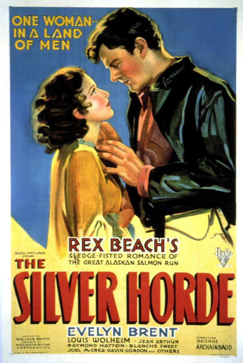 The Silver Horde (1930 film) movie poster