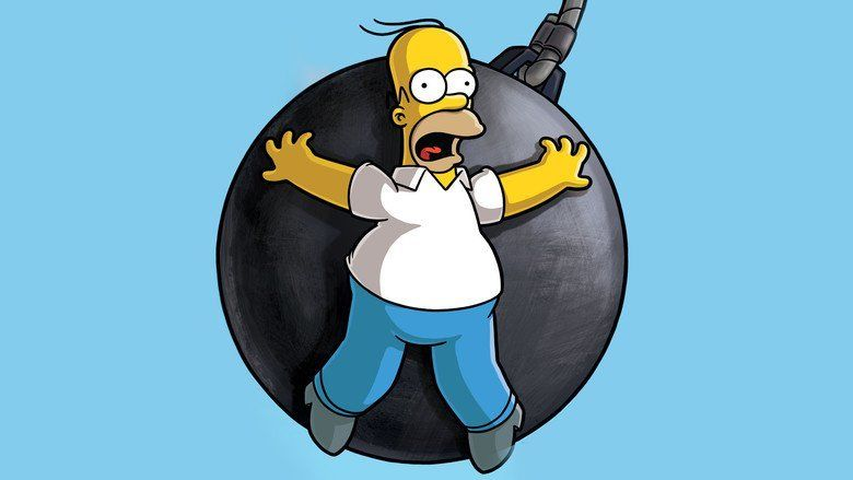 The Simpsons Movie movie scenes