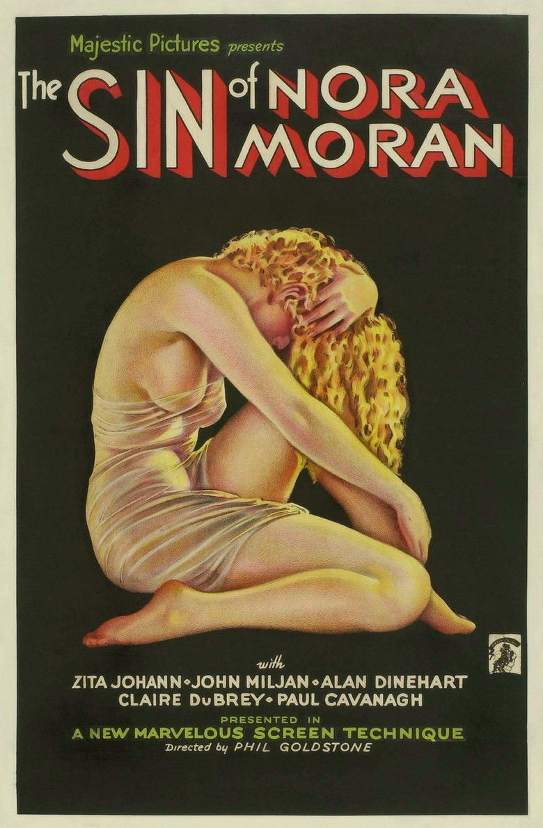 The Sin of Nora Moran movie poster