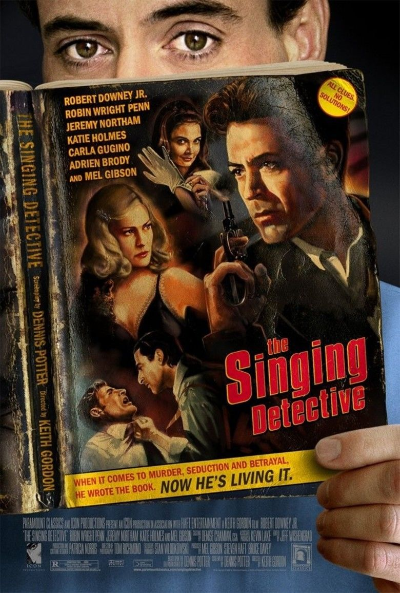 The Singing Detective (film) movie poster
