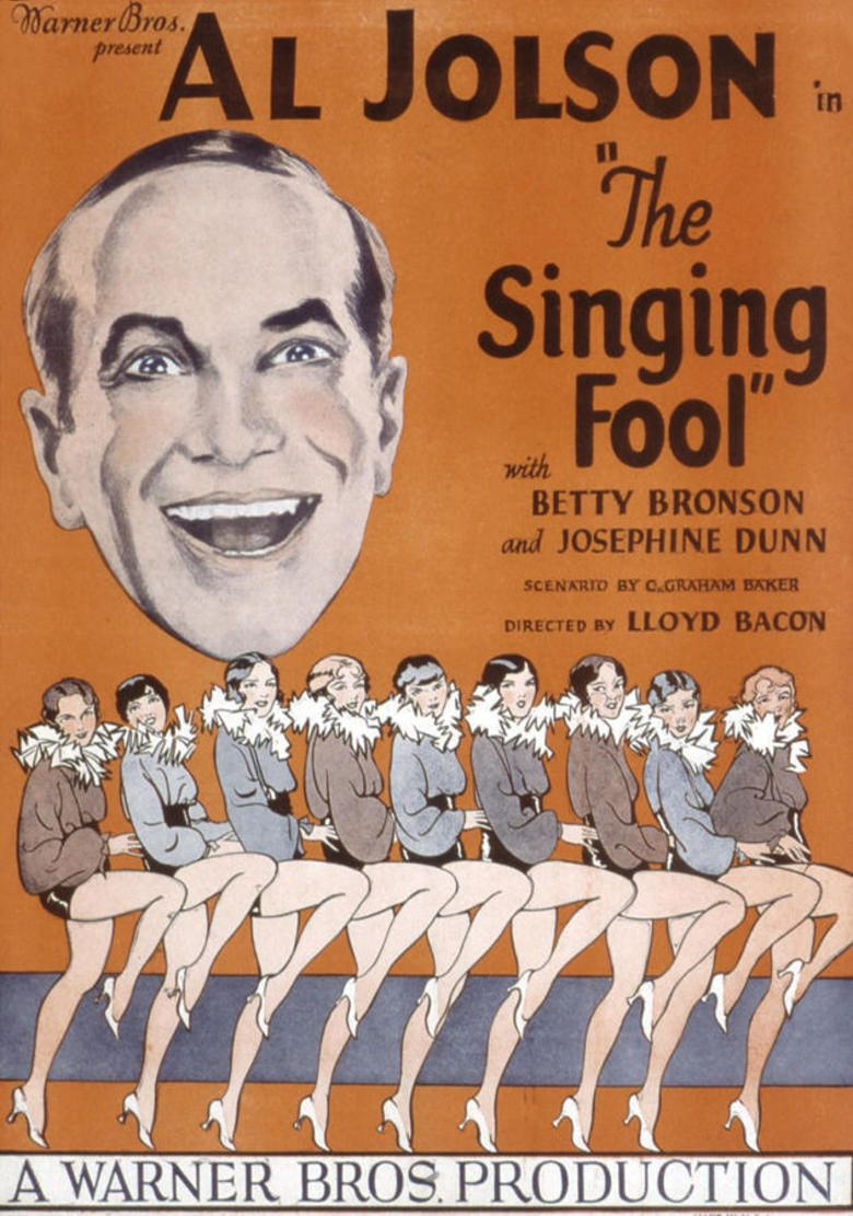 The Singing Fool movie poster