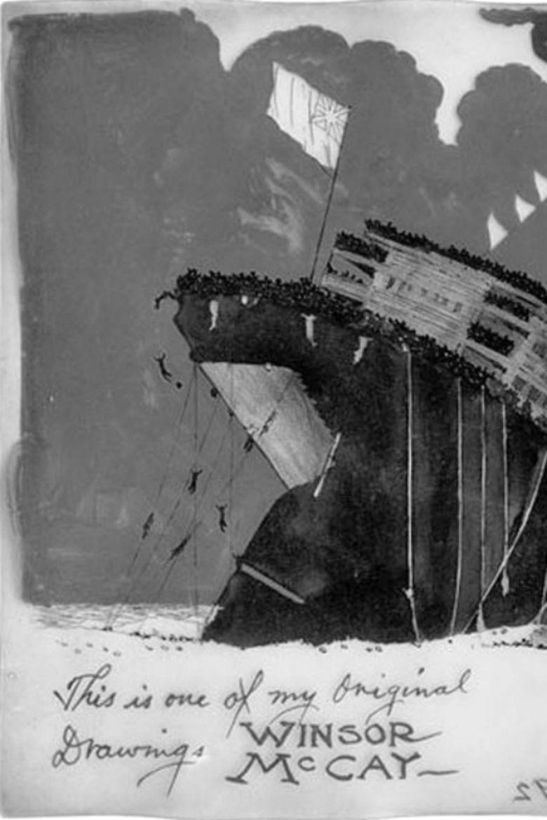 The Sinking of the Lusitania movie poster
