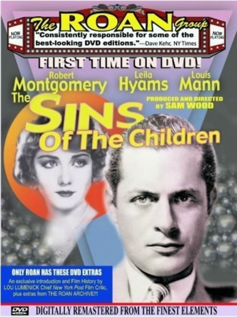 The Sins of the Children movie poster