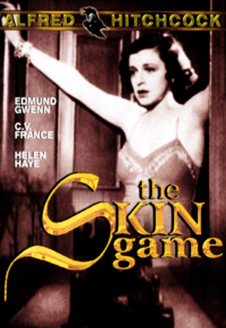 The Skin Game (1931 film) movie poster