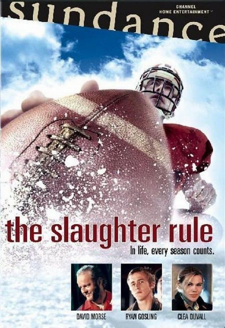 The Slaughter Rule movie poster