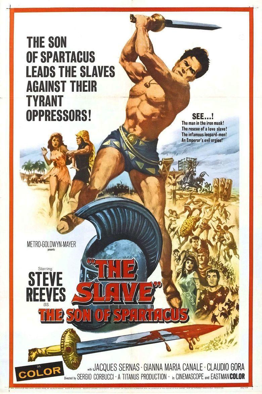 The Slave (1962 film) movie poster