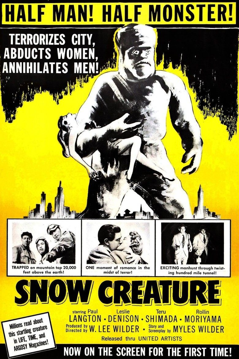 The Snow Creature movie poster