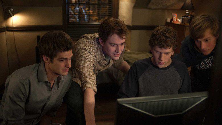 The Social Network movie scenes