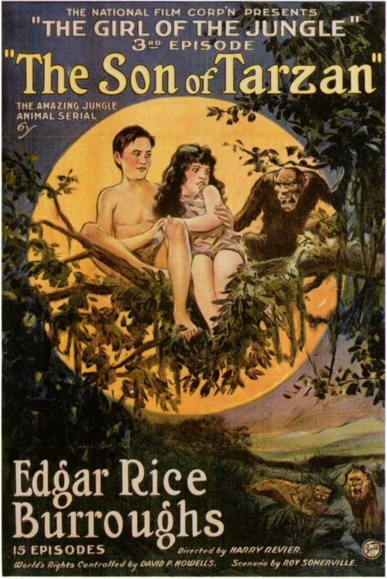 The Son of Tarzan (film) movie poster