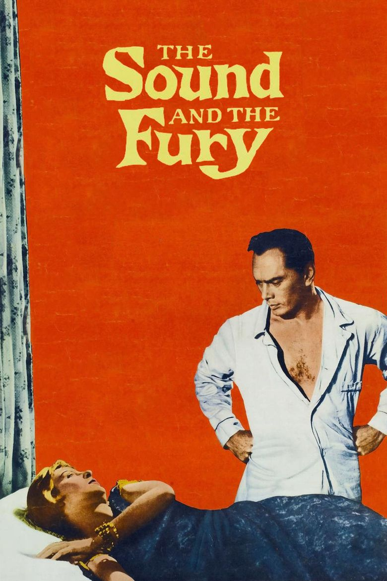 The Sound and the Fury (1959 film) movie poster