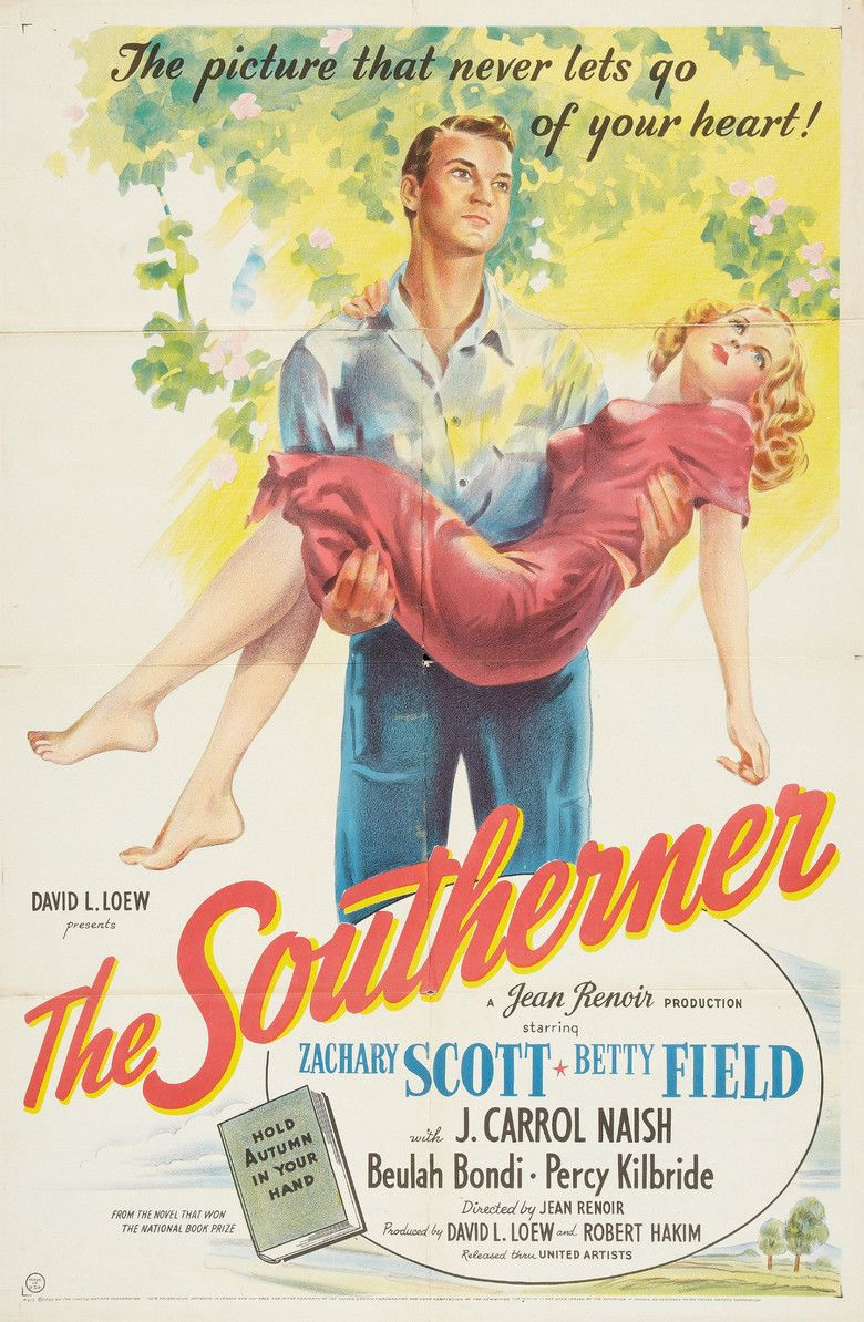 The Southerner (film) movie poster