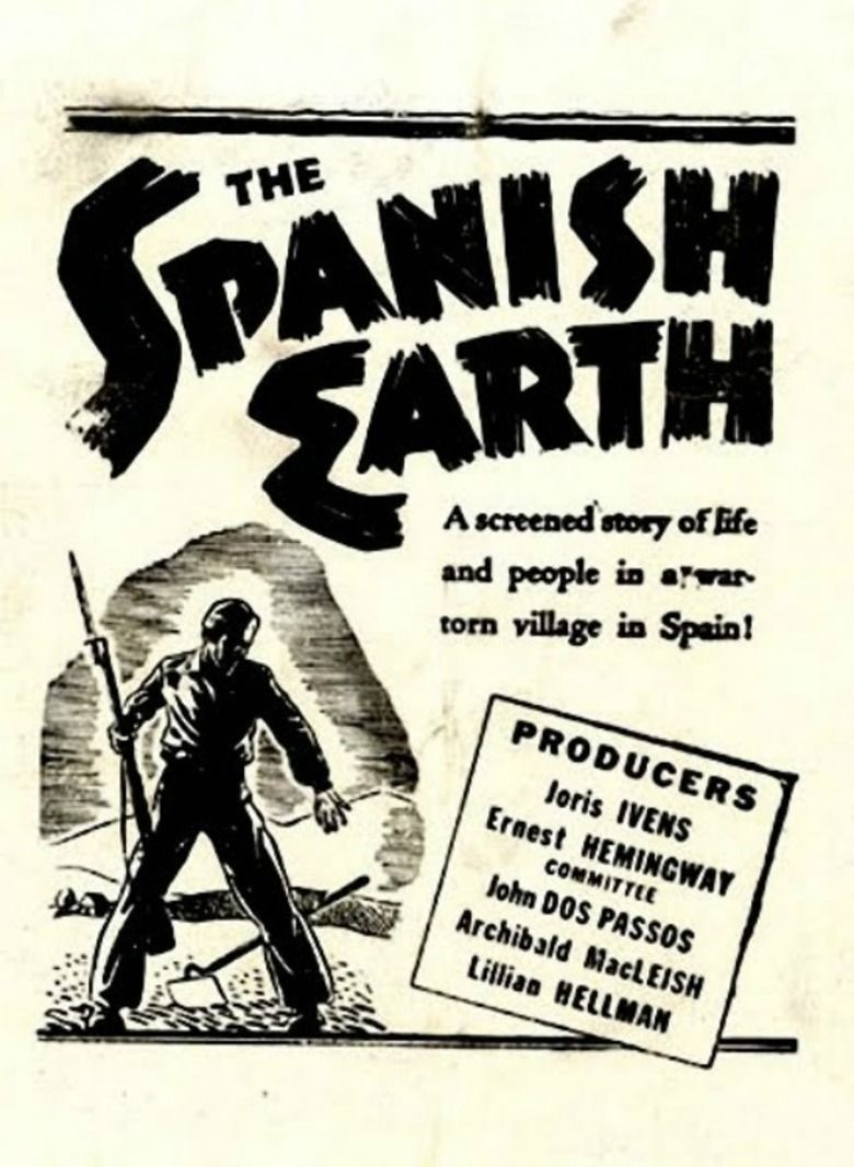 The Spanish Earth movie poster