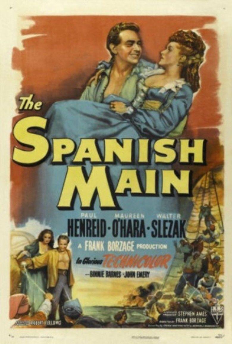 The Spanish Main movie poster
