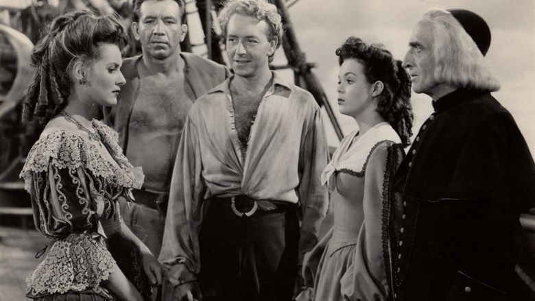 The Spanish Main movie scenes