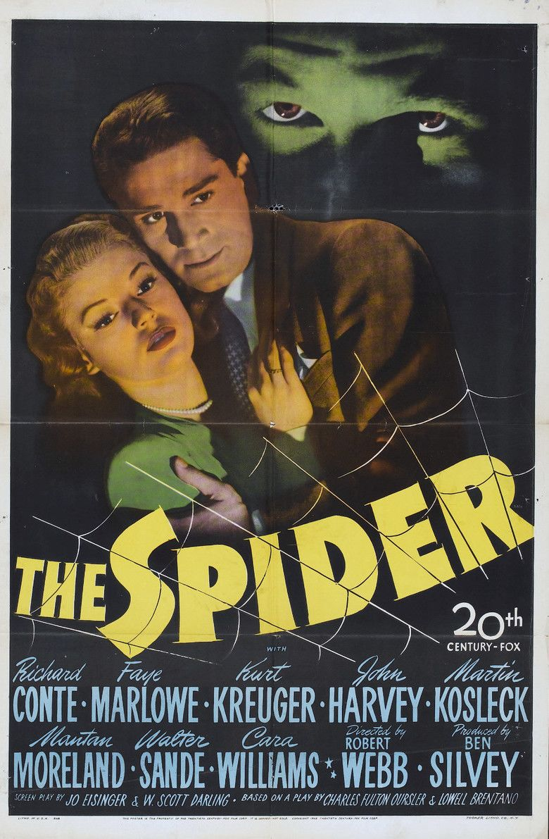 The Spider (1945 film) movie poster