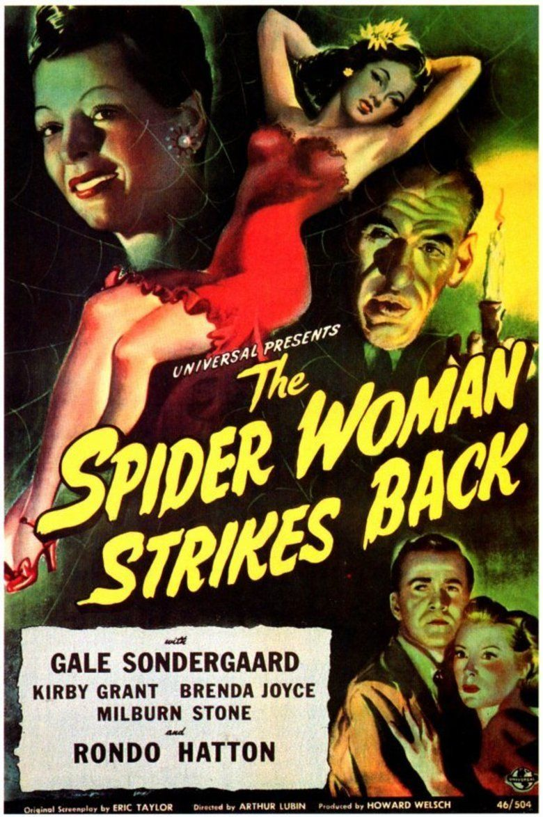The Spider Woman Strikes Back movie poster