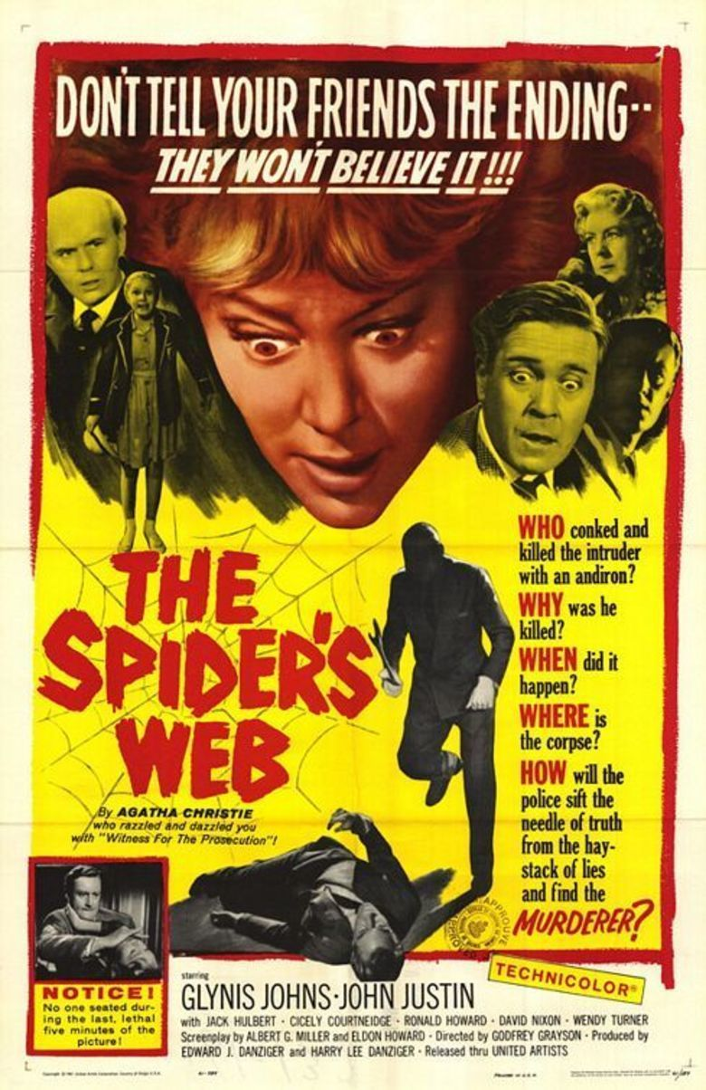 The Spiders Web (1960 film) movie poster