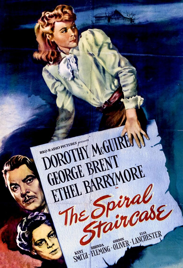 The Spiral Staircase (1946 film) movie poster