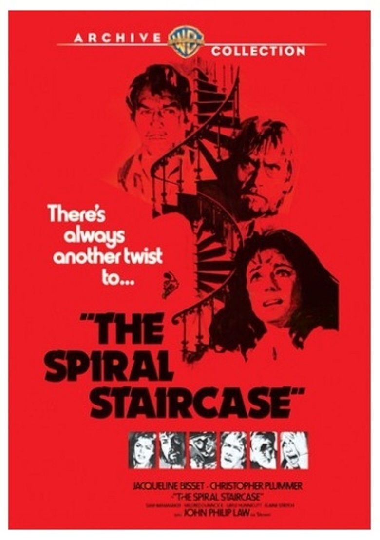 The Spiral Staircase (1975 film) movie poster
