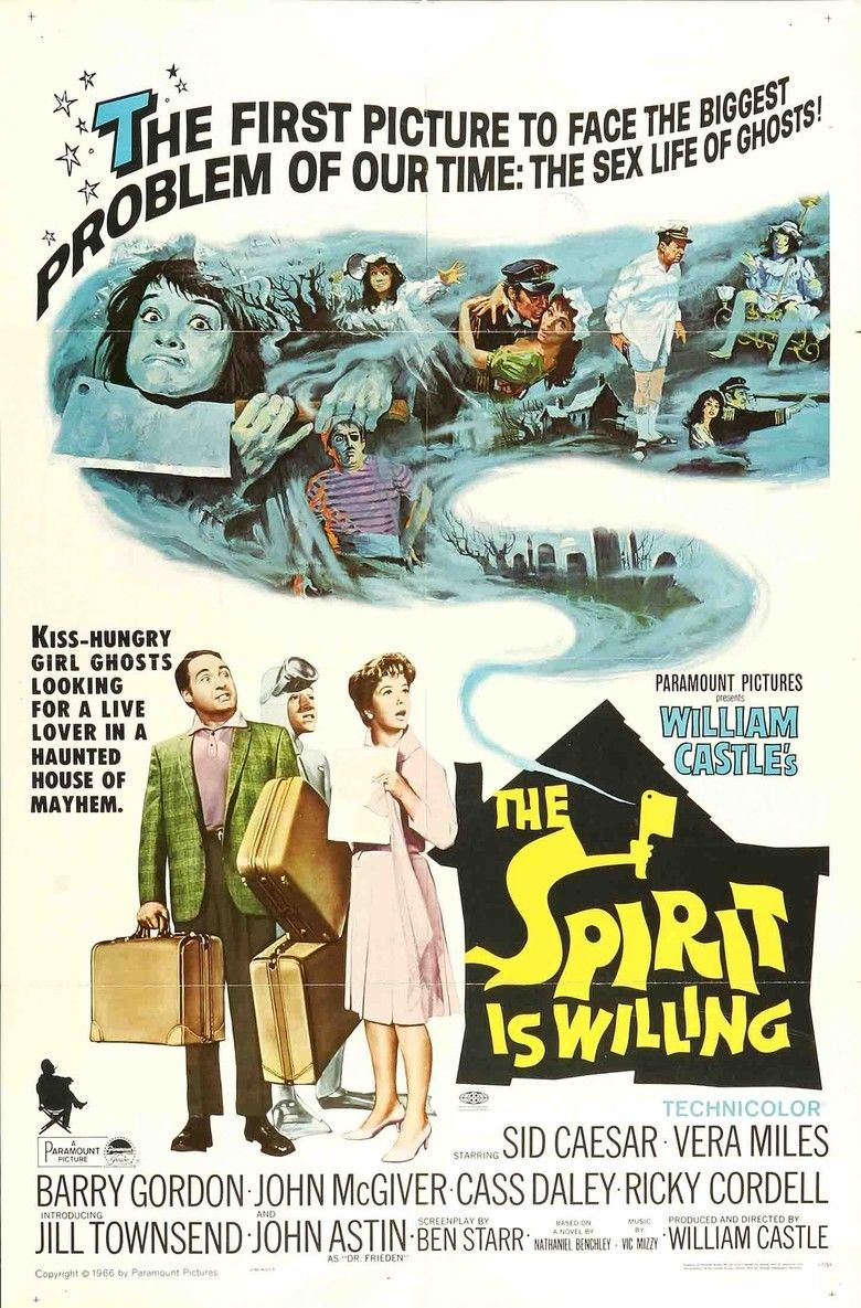 The Spirit Is Willing movie poster
