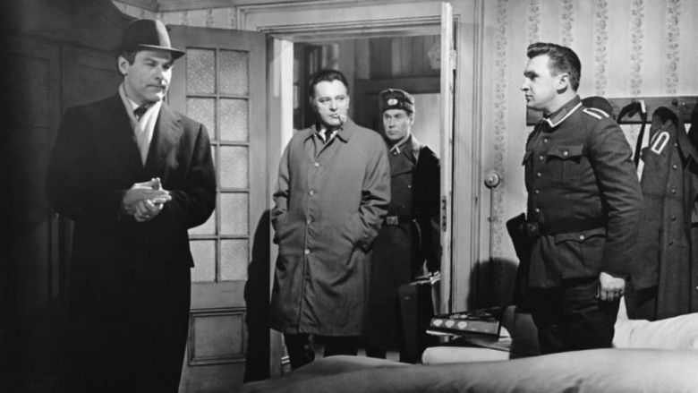 The Spy Who Came in from the Cold (film) movie scenes