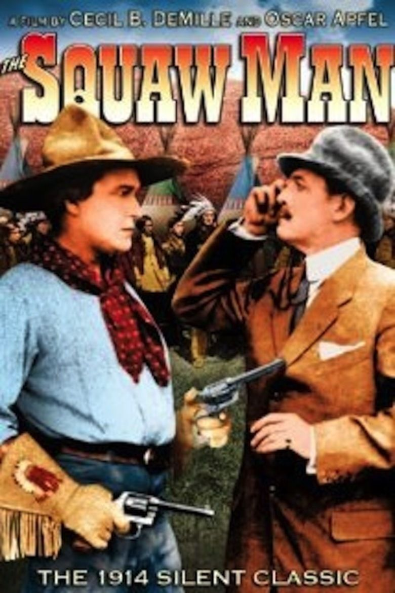 The Squaw Man (1914 film) movie poster