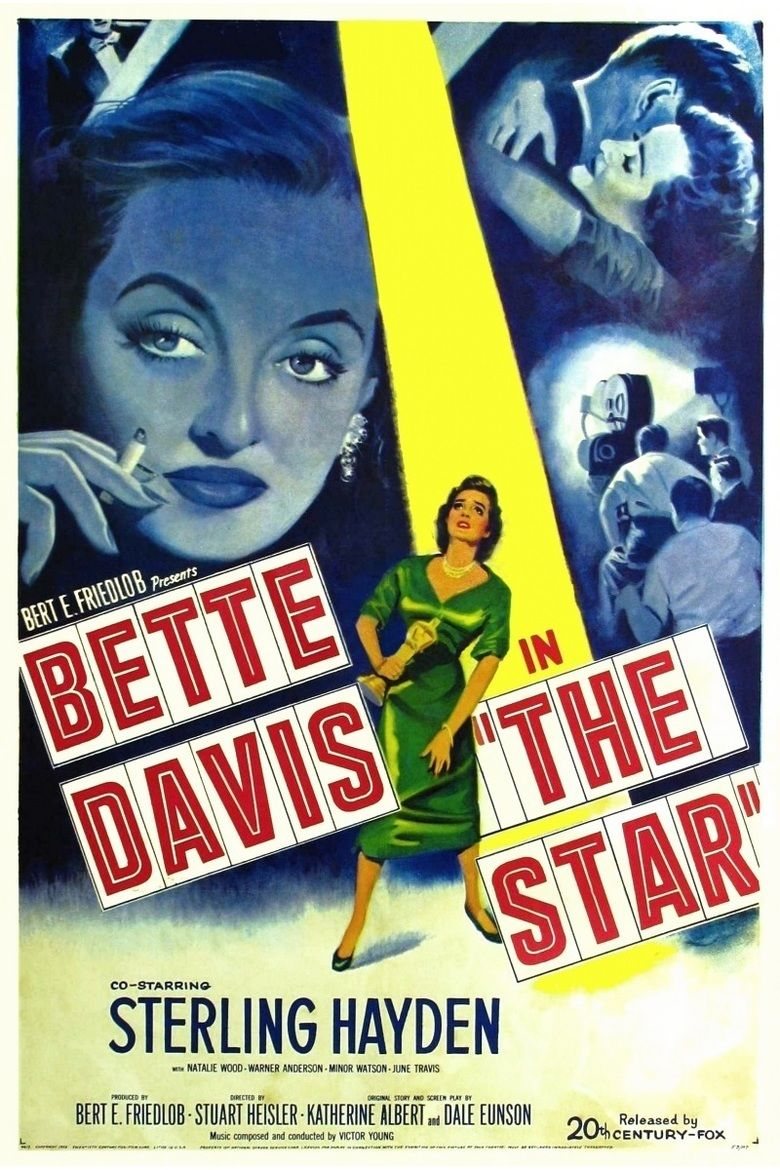 The Star (1952 film) movie poster
