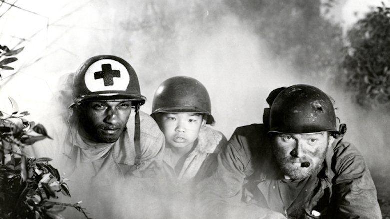 The Steel Helmet movie scenes