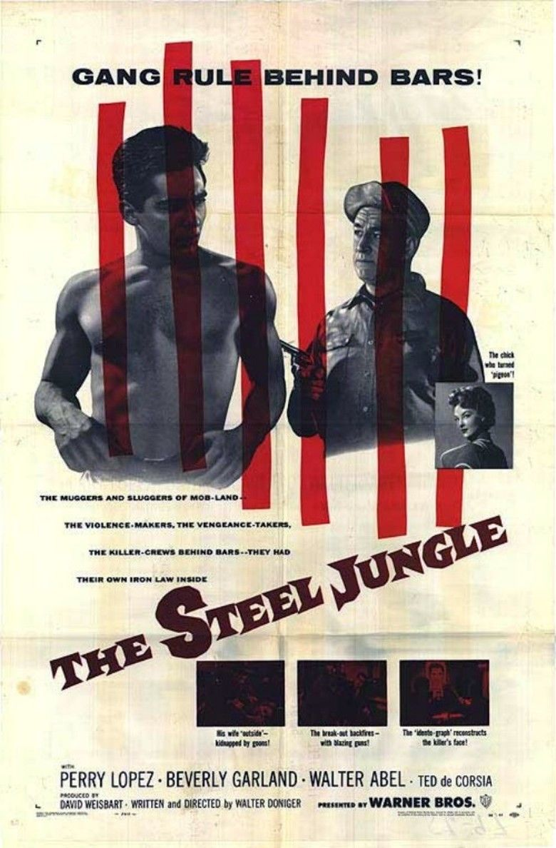 The Steel Jungle movie poster