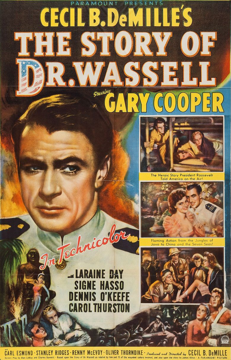 The Story of Dr Wassell movie poster