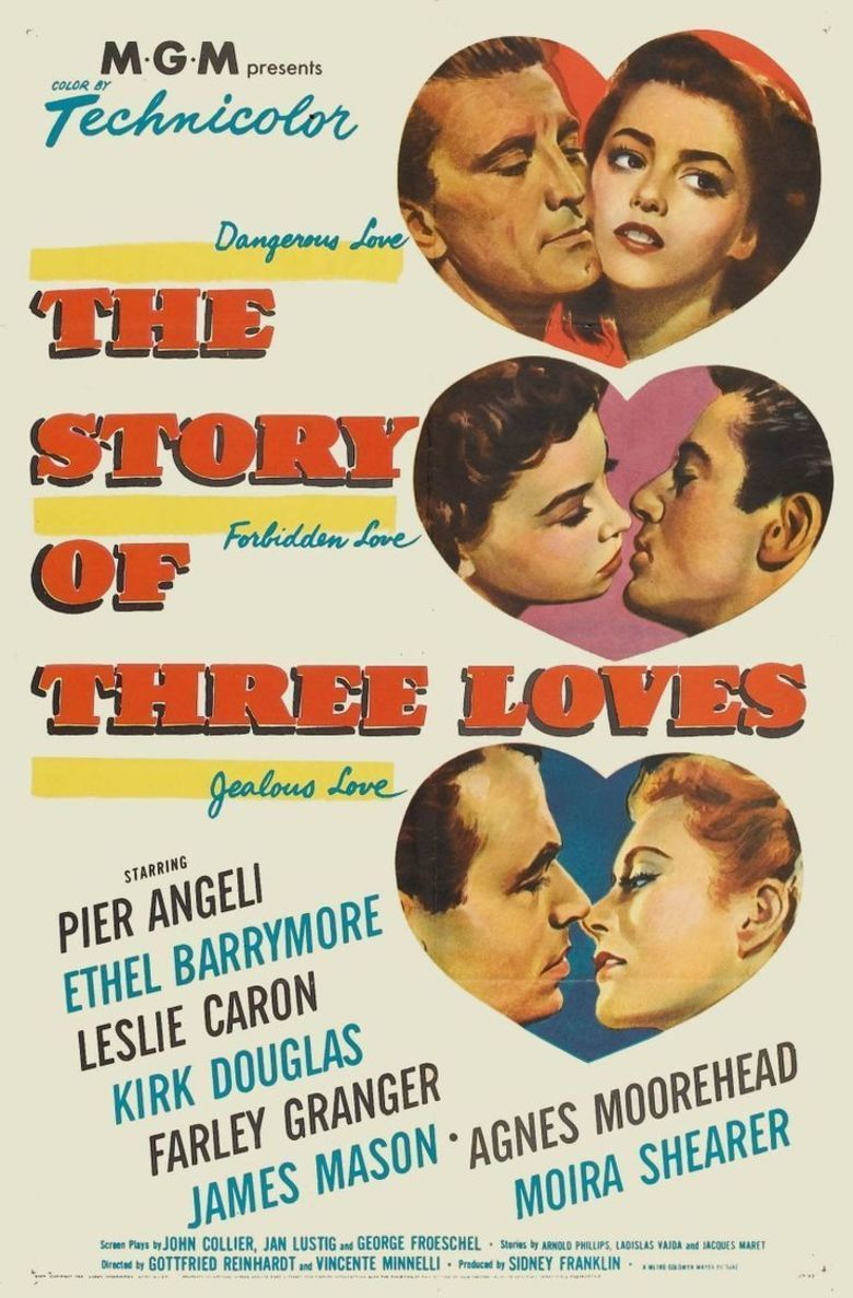 The Story of Three Loves movie poster