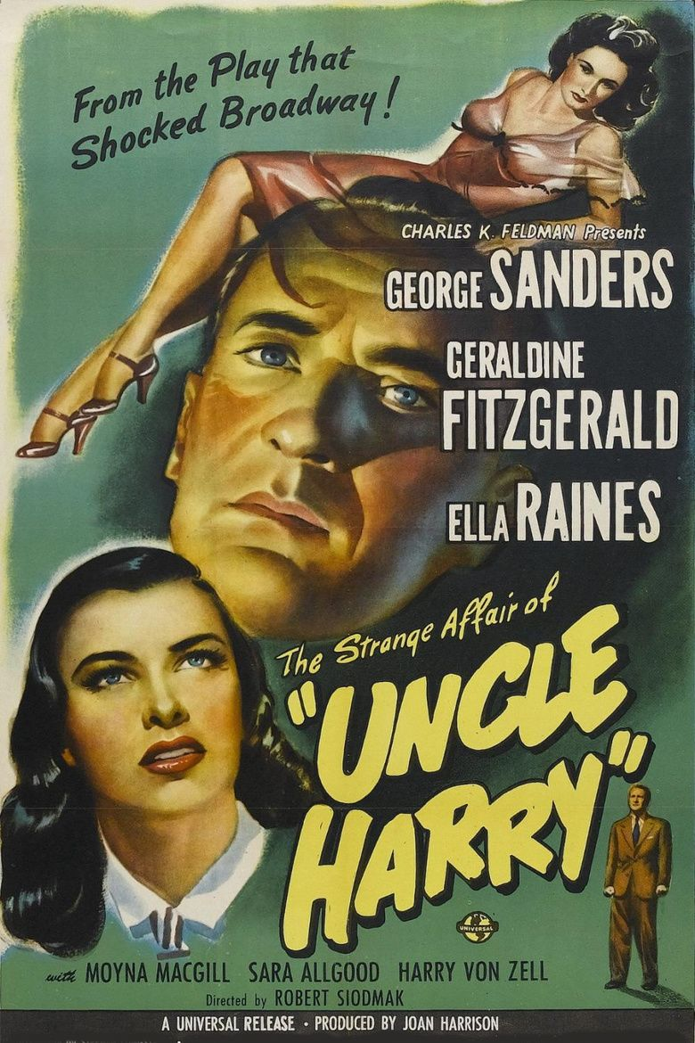The Strange Affair of Uncle Harry movie poster