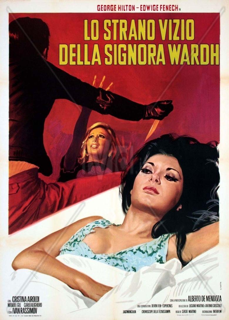 The Strange Vice of Mrs Wardh movie poster