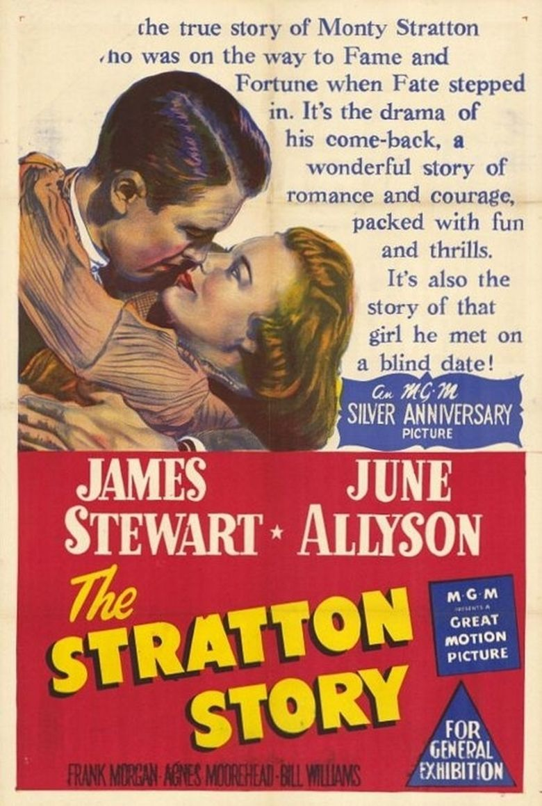 The Stratton Story movie poster
