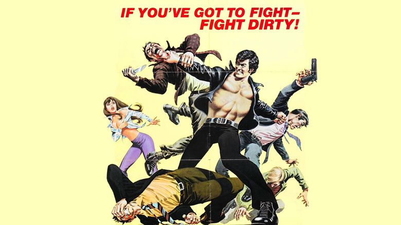 The Street Fighter movie scenes