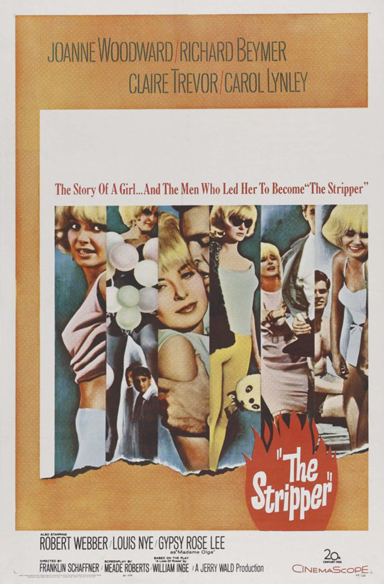 The Stripper (film) movie poster