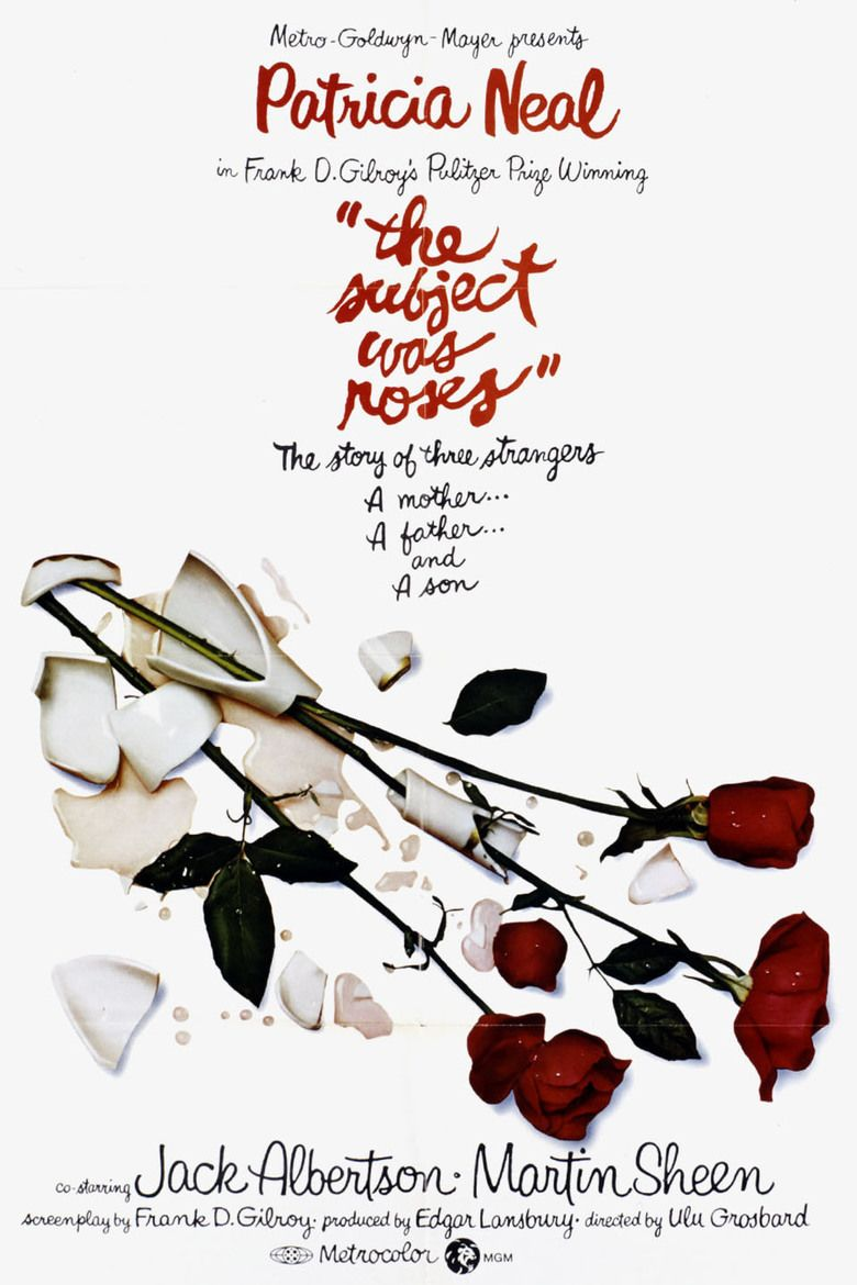 The Subject Was Roses movie poster