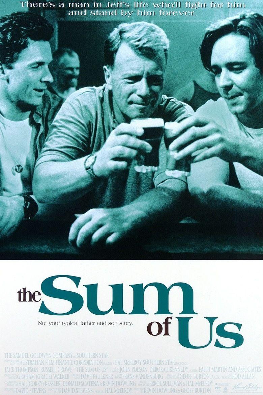 The Sum of Us (film) movie poster