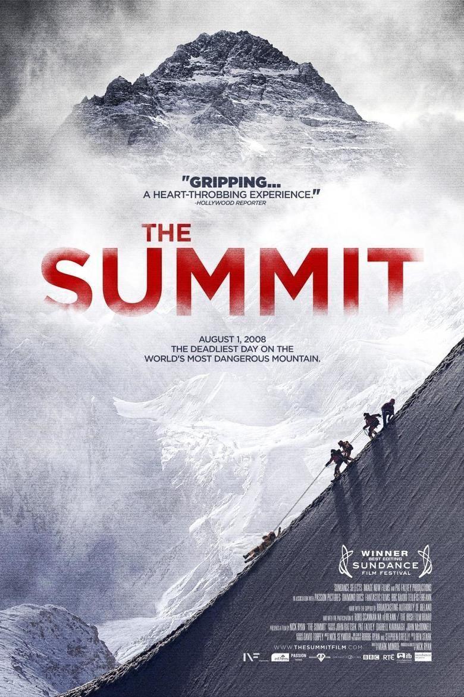 The Summit (film) movie poster