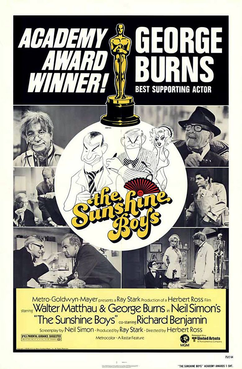 The Sunshine Boys (1975 film) movie poster
