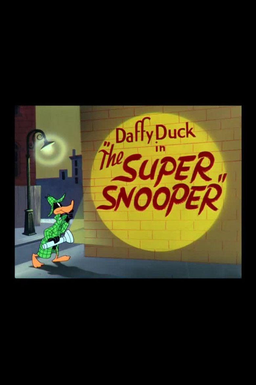 The Super Snooper movie poster