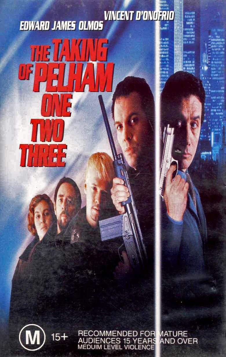 The Taking of Pelham One Two Three (1998 film) movie poster