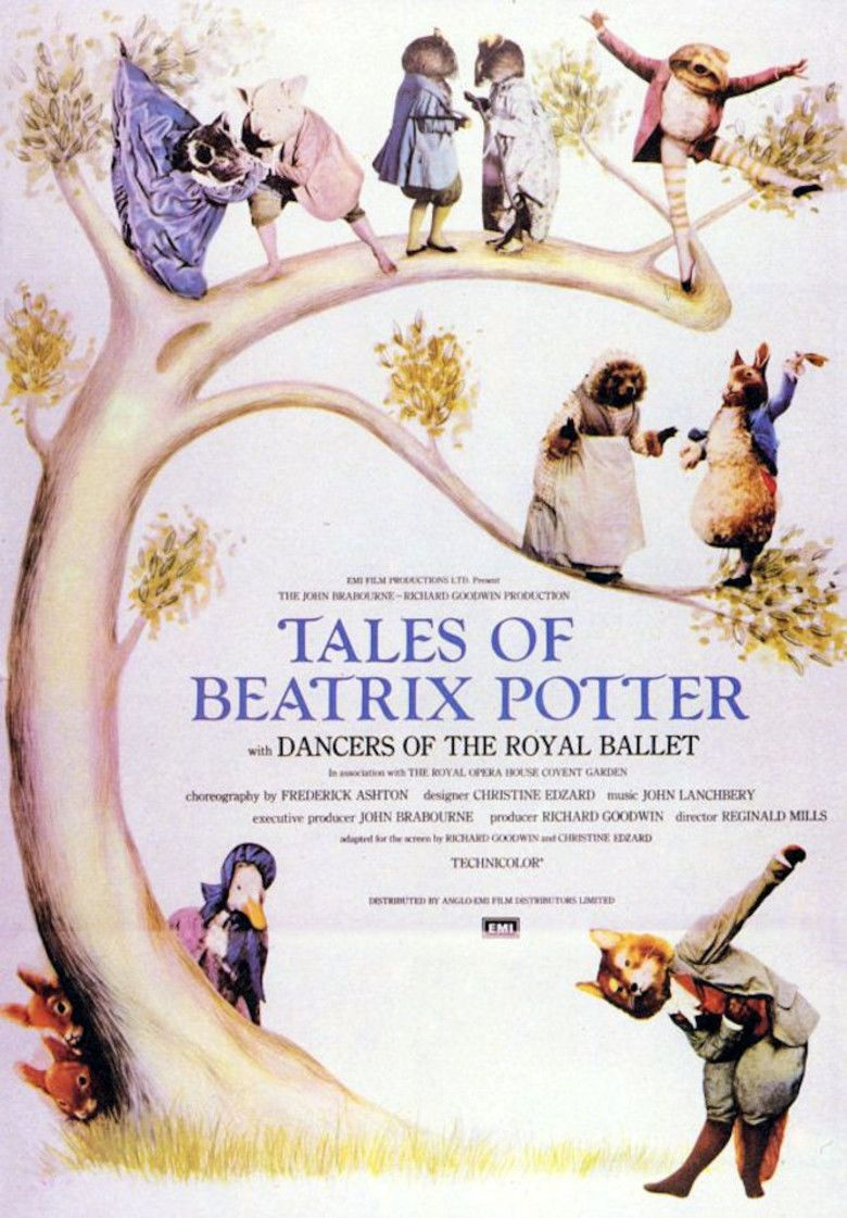 The Tales of Beatrix Potter movie poster