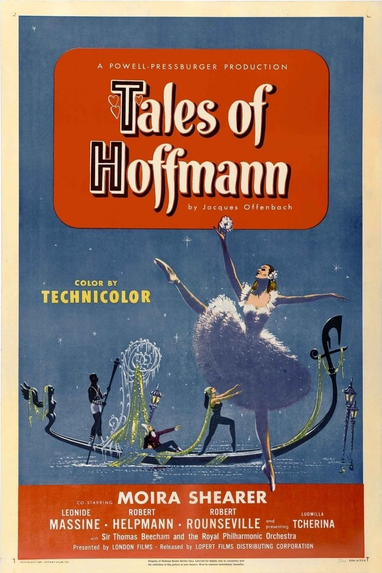 The Tales of Hoffmann (film) movie poster