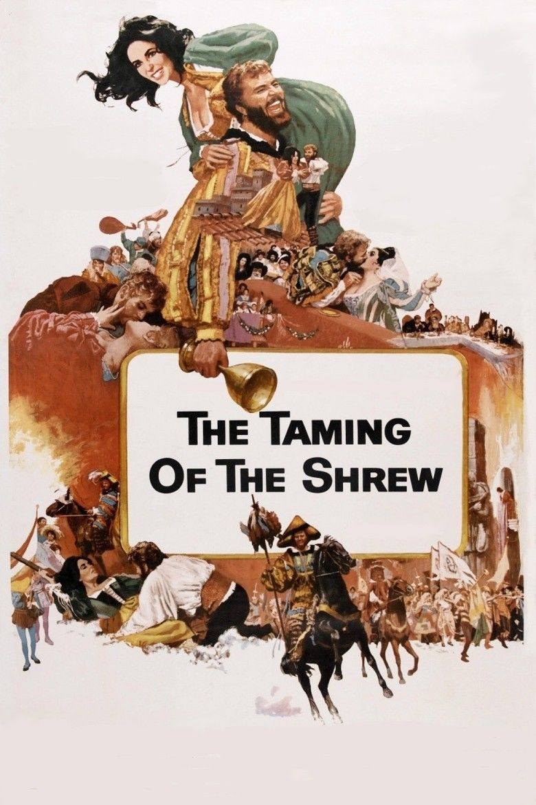 The Taming of the Shrew (1967 film) movie poster