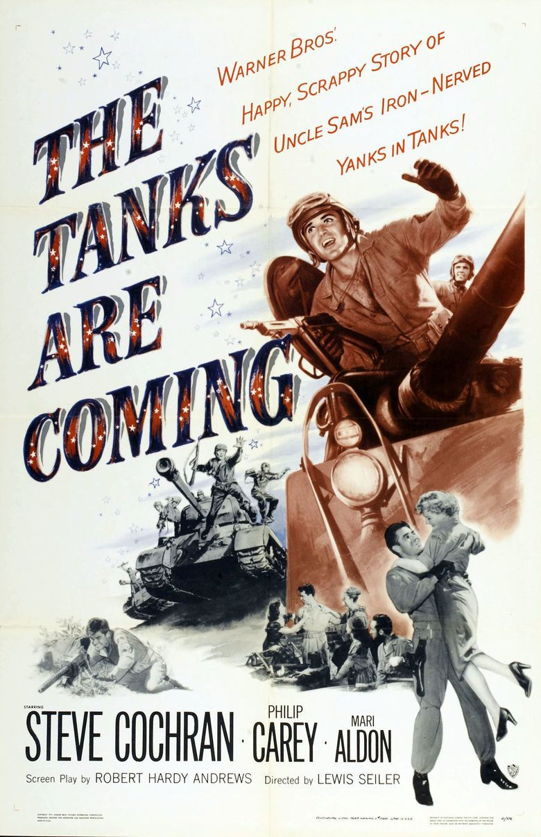 The Tanks Are Coming (1951 film) movie poster