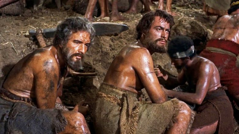 Image result for the ten commandments 1956 the slaves in the brick works